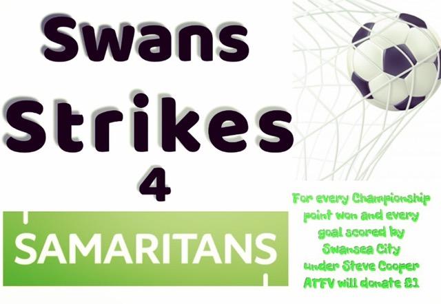 Swans strikes 4 samaritans