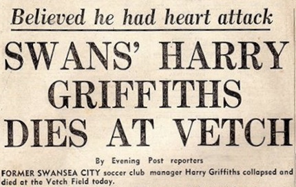 Harry Griffiths dies