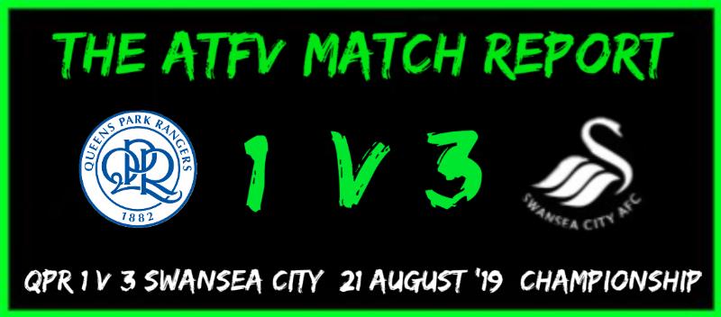 QPR 1 v 3 Swans Match Report