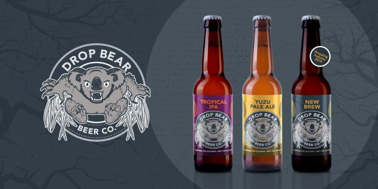 Drop Bear Non Alcoholic Beer