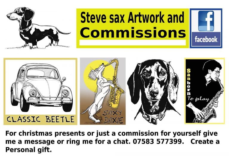 Steve sax Artwork Advert
